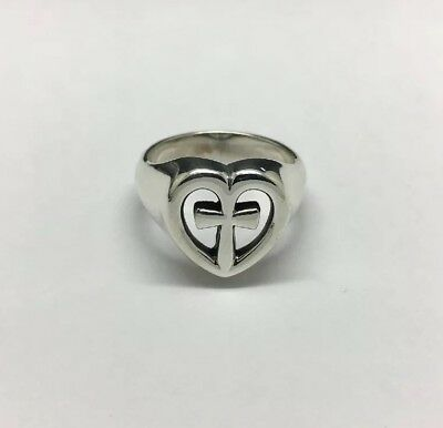 James Avery Sterling Silver Eternal Love Ring Size 5 2600 Picclick