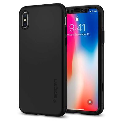 iPhone X Case, iPhone X Cases, Spigen Thin Fit 360 - Exact Slim Full Protection
