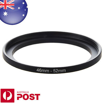 Step Up 46mm-52mm 46-52 mm 46 to 52 Metal Step Up Lens Filter Ring Adapter Z071