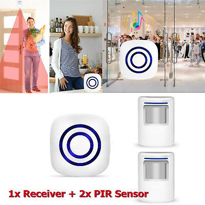 Wireless Motion Sensor Alarm Home Security Doorbell Driveway Alarm Alert System