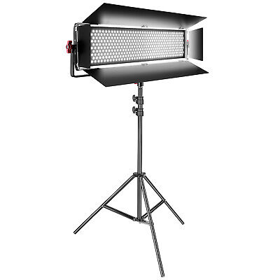 Neewer Dimmable Bi-color SMD 800 LED Video Light Lighting Kit with Light Stand