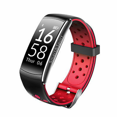 7db55423c9ddc Montre Connectée Sport Femme Fitness Samsung Iphone Android Bluetooth Homme  6 7