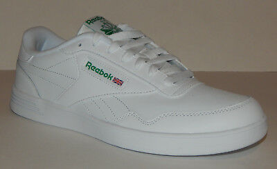 Reebok Men's Club MEMT Shoe NEW 4E X-Wide V70198 White / Green Several Sizes