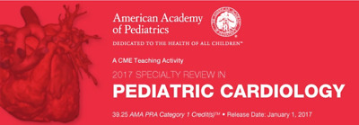 Specialty Review In Pediatric Cardiology 2017
