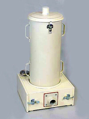 """Plastic Dryer for Injection molding QuickDry """"Single""""  w/ 23"""" drum Powder Coated"""