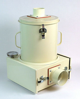 """Plastic Dryer for Injection molding QuickDry """"Single""""   w/11"""" high, 10"""" Dia Drum"""