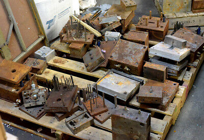 Used Plastic Injection Molding Bases and MUD inserts  8 x 9
