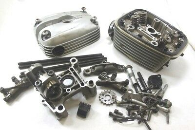 2004 BMW R1150RT R 1150 RT Left Cylinder Head With Cam Valves Complete