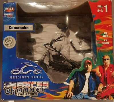 Orange County Choppers American Choppers Comanche #1 1/18 Model and Kit