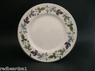 China Replacement Royal Doulton Burgundy Vintage Tea Plate England c1950s 16.5cm