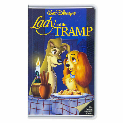 Disney World Lady and The Tramp VHS Style Journal, NEW