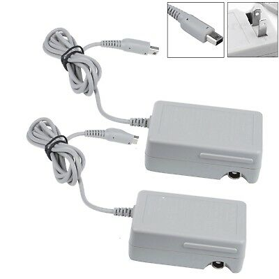 2PACKS For Nintendo NDSI XL 3DS LL AC Power Adapter Home Wall Travel Charger