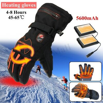 Electric Heated Gloves 11200mAh Rechargeable Battery 7.4V Winter Hands Warmer