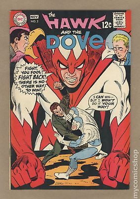 Hawk and Dove (1st Series) #2 1968 FN 6.0