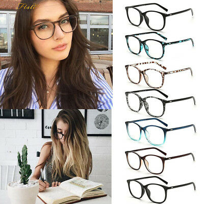 Clear Lens Eyeglasses Frame Retro Vintage Round Men Women Eyewear Nerd Glasses