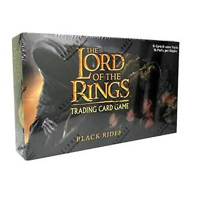 LORD OF THE RINGS TCG - Black Rider Booster Card Box (Sealed) #NEW