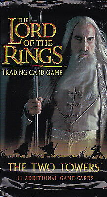 LORD OF THE RINGS TCG - Two Towers Cards Booster Packs (26) by Decipher #NEW