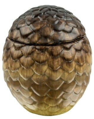 GAMES OF THRONES - Dragon Egg Ceramic Jar Viserion (Tan) by Ikon Collectables