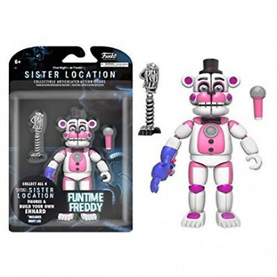 Funko Five Nights at Freddys Sister Location Funtime Freddy Action Figur