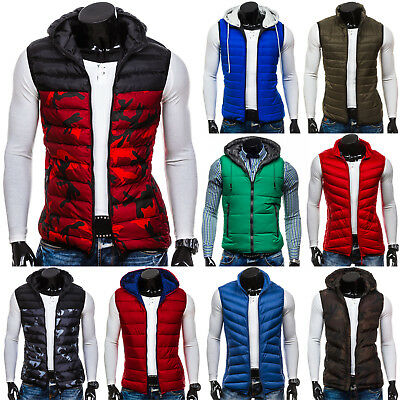 BOLF Vests Gilet Waistcoat Bodywarmer Jacket Winter Lined Mens Mix 4D4 Classic