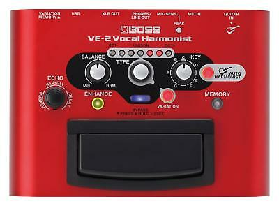 B-Ware Boss Ve-2 Vocal Harmonist Harmonizer Enhancer Usb Gesangs Effekt Hall