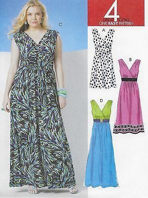Mccalls 6741 Easy Lined Summer Dresses Plus Size 18w 24w Sewing