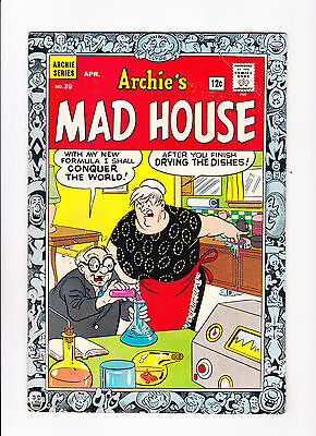Archie's Madhouse  No.39   : 1965 :    : Laboratory Cover! :