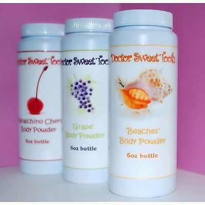 Handmade Scented Body & Foot Powder 6oz (You Choose Scent) TALC FREE