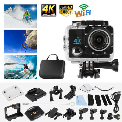 Ultra HD 4K WIFI 16MP 2 inch LCD Screen Display Video Sports Action Camera LF873