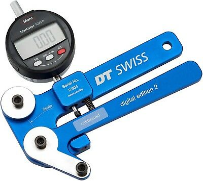 DT Swiss Digital Tensiometer with Case and Conversion Charts