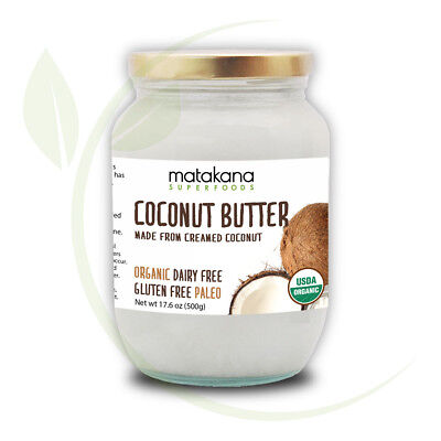 Matakana Superfoods Organic Coconut Butter Creamed Coconut 500gm