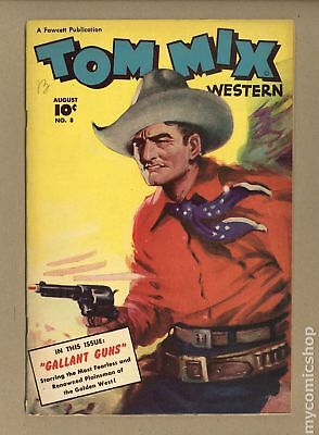 Tom Mix Western (Fawcett) #8 1948 VG+ 4.5