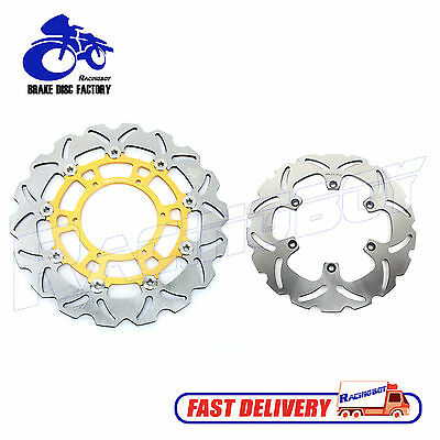 Front Rear Brake Disc Rotor For BMW F650CS F650GS Darker F650ST G 650 GS SERTAO