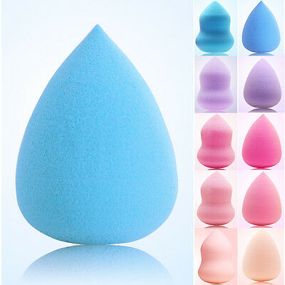 Pro Makeup Foundation Sponge Blender Puff Flawless Smooth Beauy Convenient CA