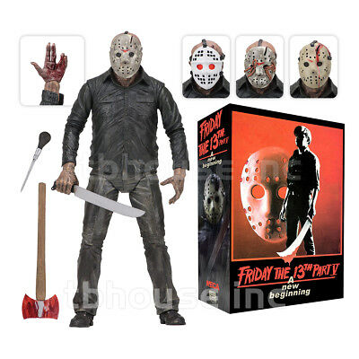 """7"""" ULTIMATE JASON VOORHEES figure FRIDAY THE 13TH dream sequence PART 5 V neca"""