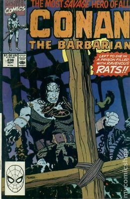 Conan the Barbarian (Marvel) #236 1990 VG Stock Image Low Grade