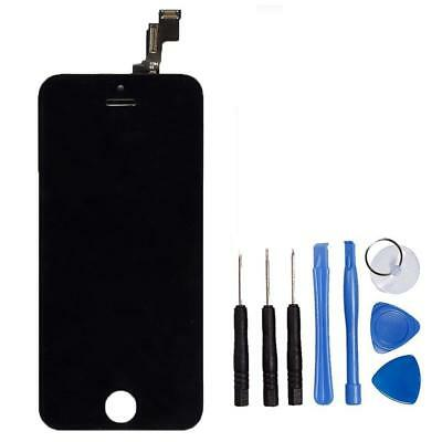 For iPhone 5S LCD Display Digitizer Touch Screen Full Assembly Replacement Black