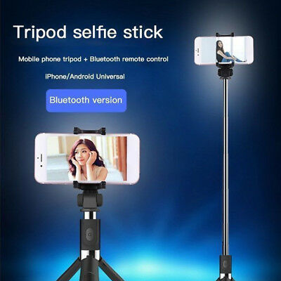 Selfie Tripod Mount Phone Holder Stick Monopod+Bluetooth Remote Shutter CHZ