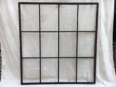 Architectural Steel Sash Window Industrial  Sturdy Factory 12 Pane