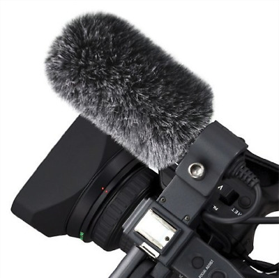 Micover Slipover Microphone Windscreen Fur for Audio Technica AT875, AT875R