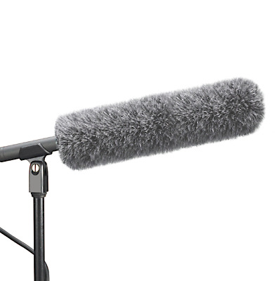 Micover Slipover Microphone Windscreen Fur for Audio Technica AT815B, AT815ST