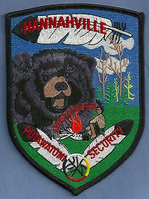 Hannahville Potawatomi Michigan Tribal Police Patch