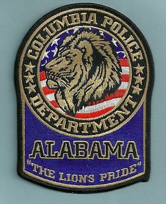 Columbia Alabama Police Patch