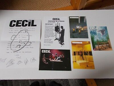 Cecil Postcards Info Sheets