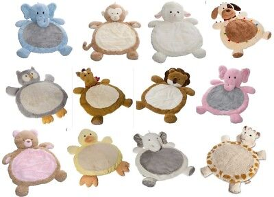 Best Ever Baby Infant Cuddle Buddy Plush Play Mat Floor Rug - Great Shower Gift