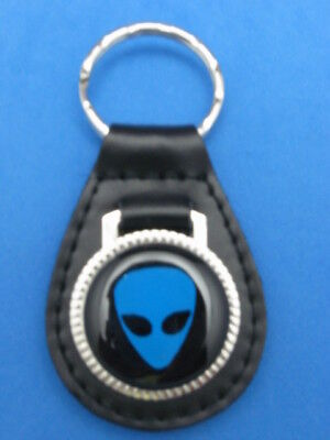 SATURN AUTO LEATHER KEYCHAIN KEY CHAIN RING FOB #086 GOLD