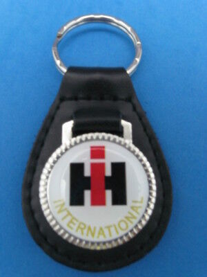 Ihc Ih International Harvester Trucks Leather Keychain Key Chain Ring Fob #186