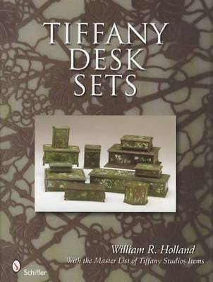 Vintage Tiffany Desk Sets 1900-33 Collectors Reference Guide - Inkwells & More