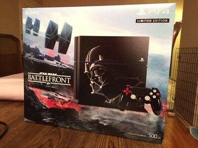 Sony PlayStation 4 Star Wars Battlefront Bundle 500GB Jet Black Console