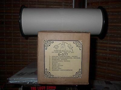 Nickelodeon Player Piano O Roll  (O-577)